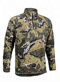 Swedteam Disolve Veil cammo Half zip Fleece